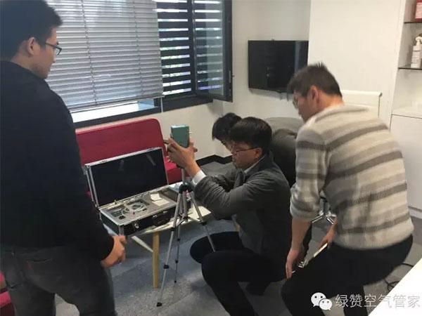 恭喜汪总成功代理创绿家除甲醛加盟品牌!
