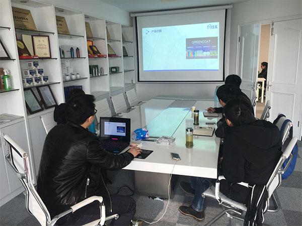 恭喜魏总成功代理创绿家除甲醛加盟品牌!
